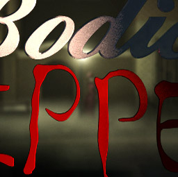 The opening shot of The Bodice Ripper as an animatic.